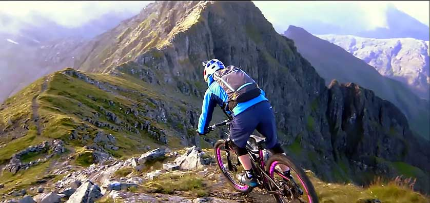 Biking Through Middle Earth - What it Would Look Like | Danny Macaskill: The Ridge