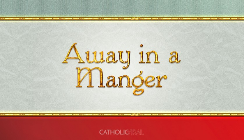 13 Thrilling Christmas Carols - HD Christmas Wallpapers - Carol Away in a Manger