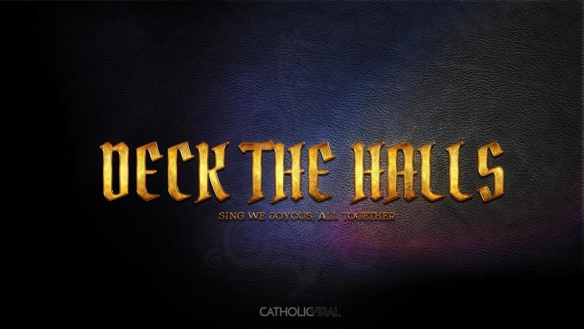 13 Thrilling Christmas Carols - HD Christmas Wallpapers - Carol Deck the Halls - Epic