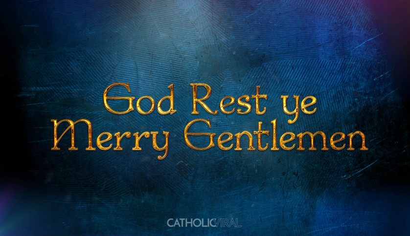 13 Thrilling Christmas Carols - HD Christmas Wallpapers - God Rest Ye Merry Gentlemen