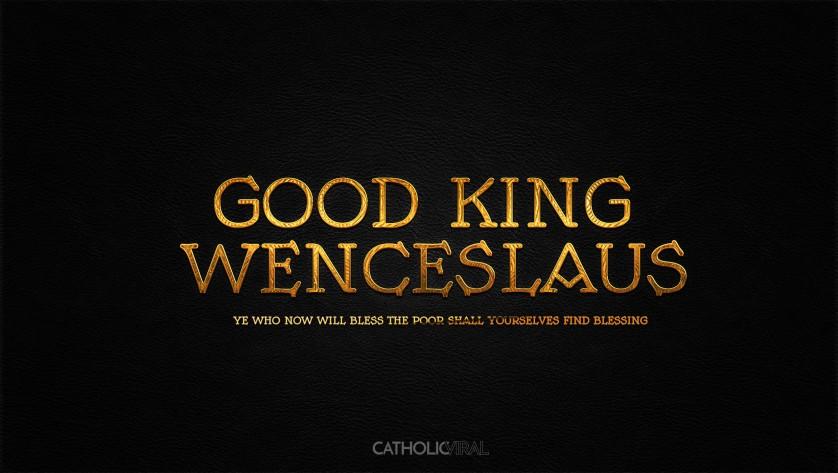 13 Thrilling Christmas Carols - HD Christmas Wallpapers - Carol Good King Wenceslaus