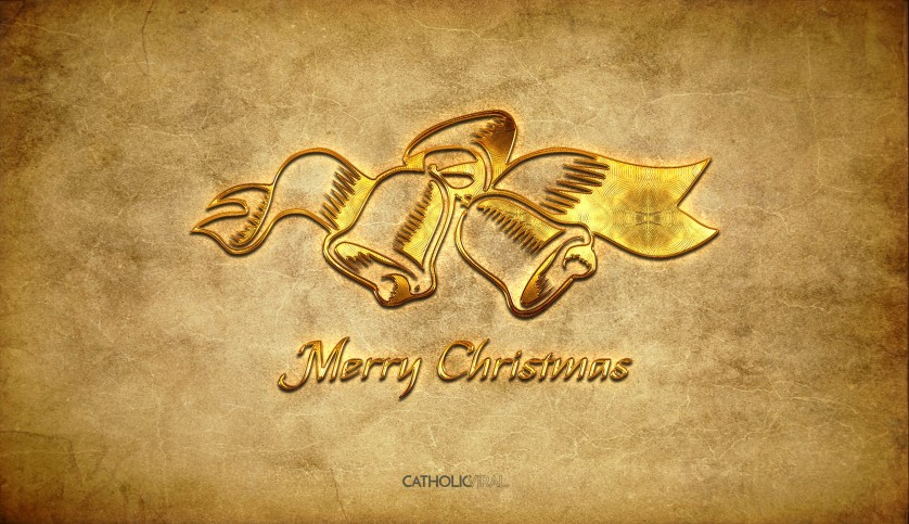 14 Fantastic Christmas Icons - HD Christmas Wallpapers - Golden Christmas Bells