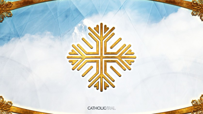 14 Fantastic Christmas Icons - HD Christmas Wallpapers - Snowflake on Ice