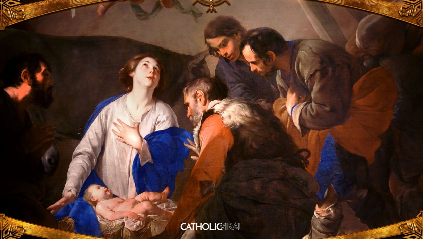 18 Gorgeous Classical Paintings - HD Christmas Wallpapers - The Adoration of the Shepherds at the Birth of Christ