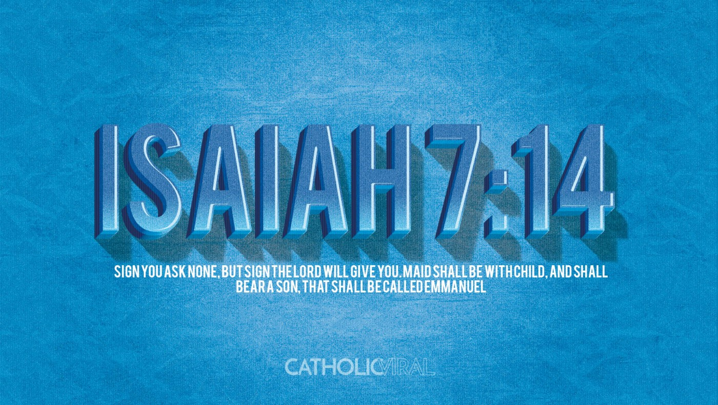 8 Vintage Verses from Scripture about the Nativity- HD Christmas Wallpapers - Isaiah 7:14