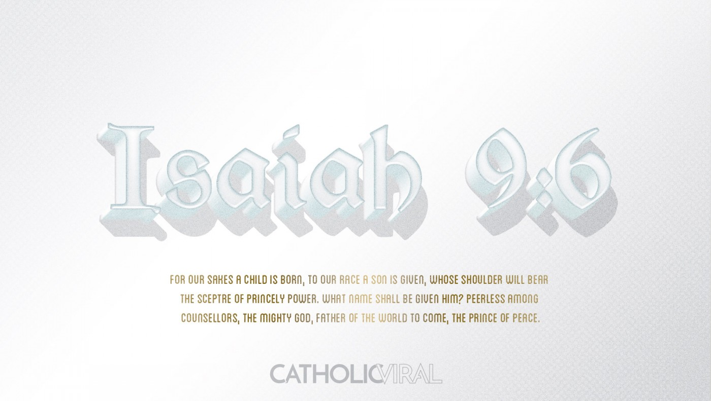 8 Vintage Verses from Scripture about the Nativity- HD Christmas Wallpapers - Isaiah 9:6