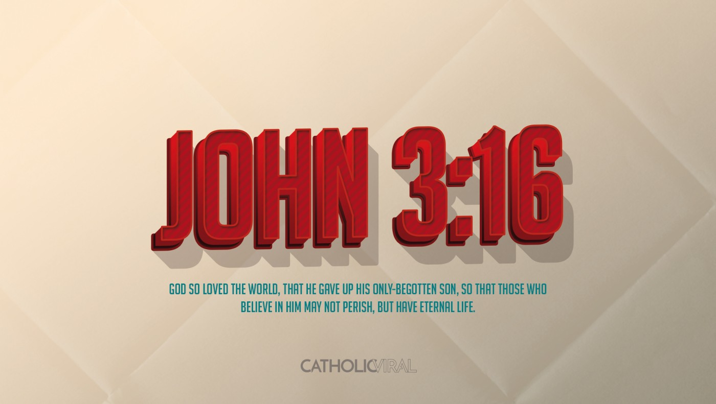 8 Vintage Verses from Scripture about the Nativity- HD Christmas Wallpapers - John 3:16