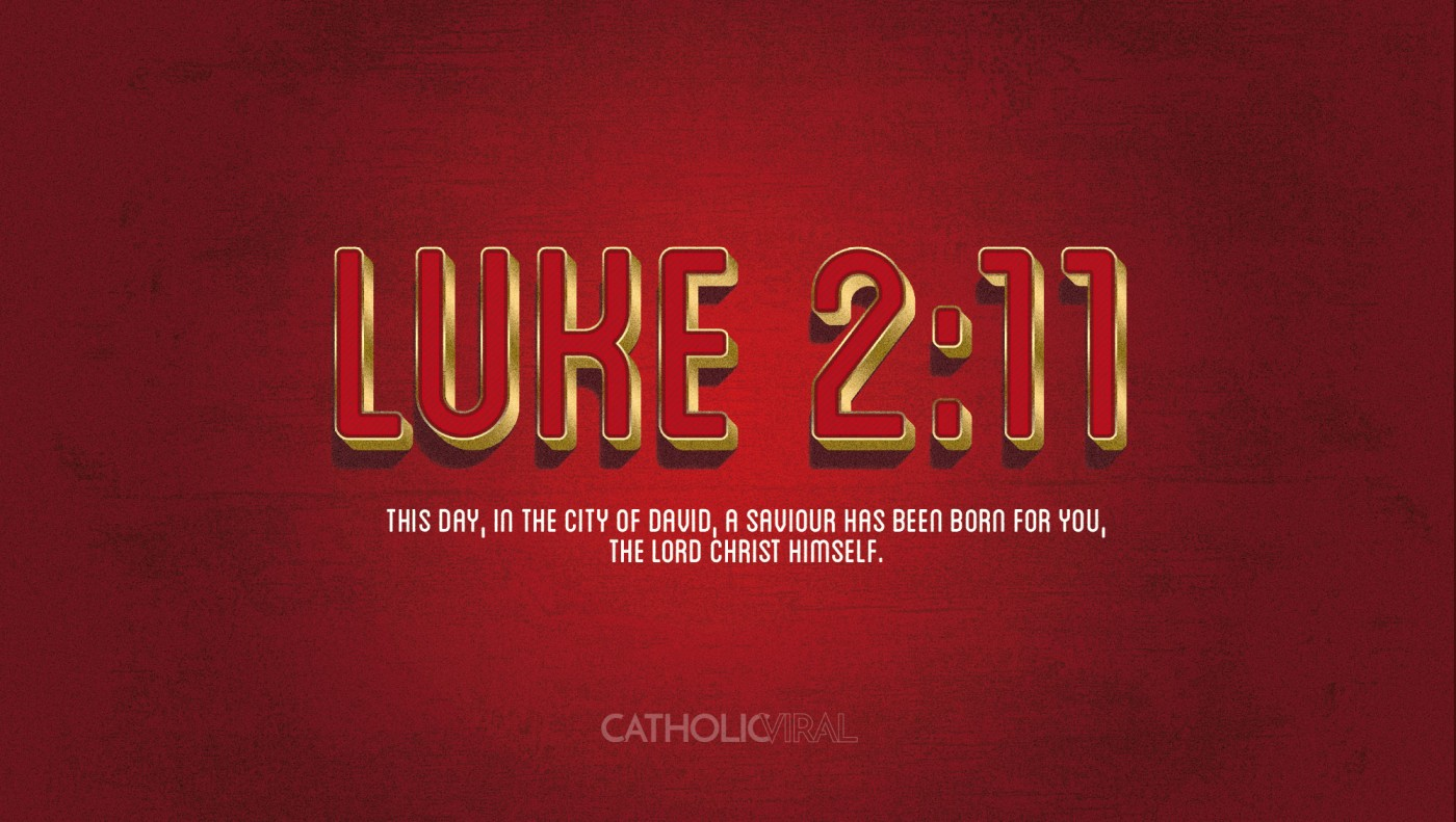 8 Vintage Verses from Scripture about the Nativity- HD Christmas Wallpapers - Luke 2:11