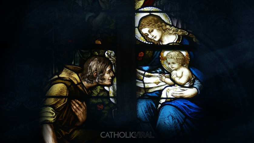 17 Stunning Stained-Glass Windows of the Nativity - HD Christmas Wallpapers - The Birth of Christ