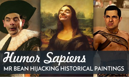 Humor Sapiens: Mr. Bean Hijacking Historical Paintings