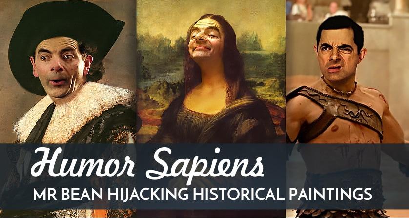 Humor Sapiens: Mr. Bean Hijacking Historical Paintings