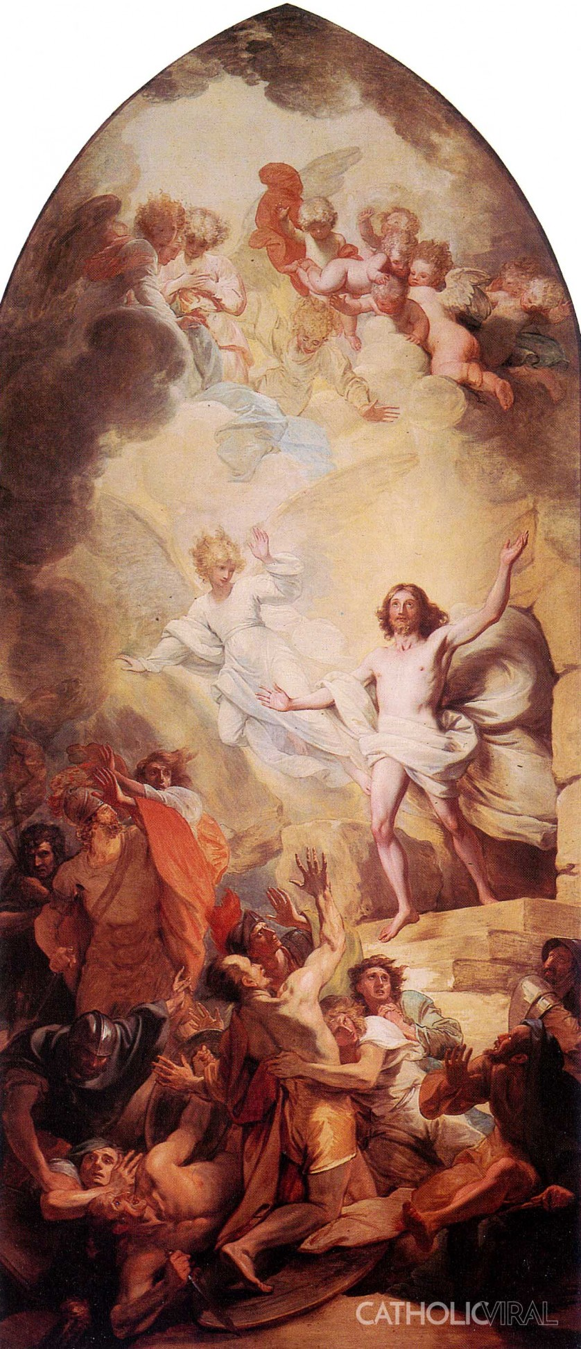 Resurrection - West - 54 Paintings of the Passion, Death and Resurrection of Jesus Christ