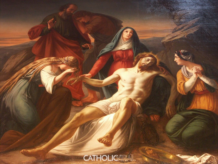Taking Down from the Cross - 54 Paintings of the Passion, Death and Resurrection of Jesus Christ