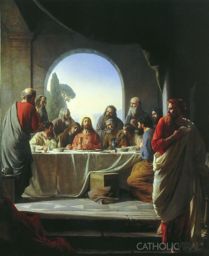 The Last Supper - Carl Bloch -