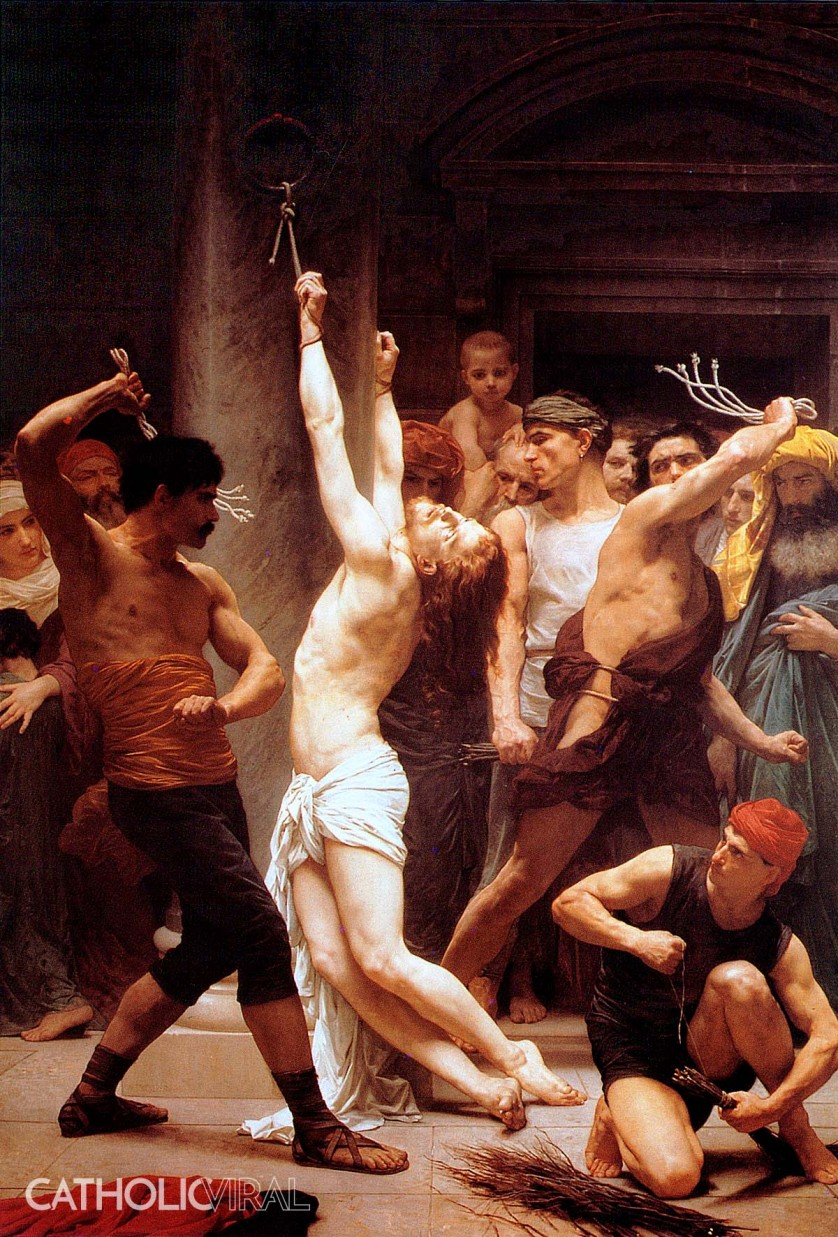 The Scourging - 54 Paintings of the Passion, Death and Resurrection of Jesus Christ