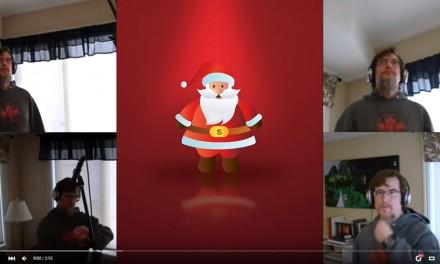 """I Saw Santa Punching Arius"" Singalong with Russel Grigaitis"