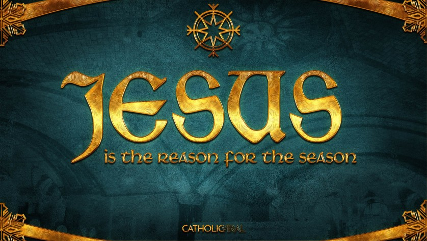 29 Epic Seasonal Titles - HD Christmas Wallpapers - Jesus is the Reason for the Season