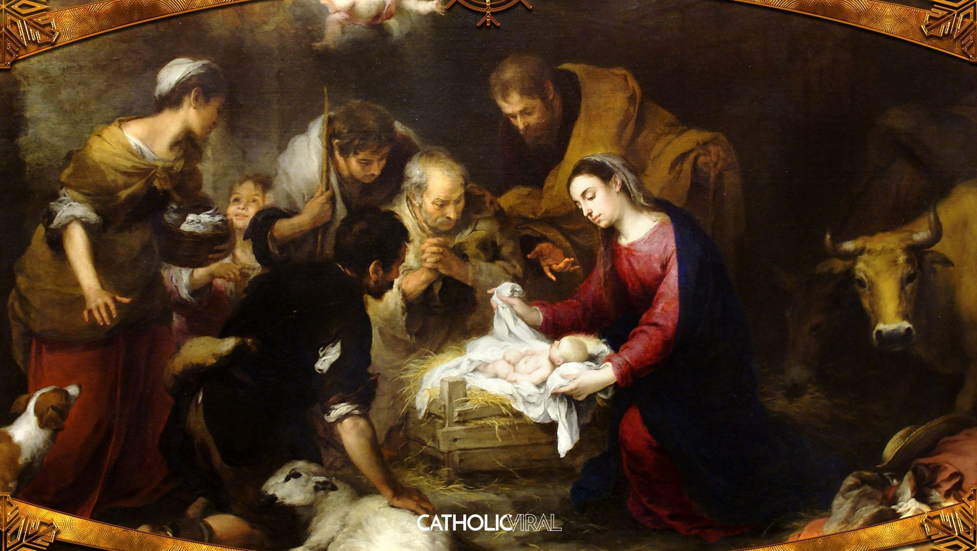 18 Gorgeous Classical Paintings Of The Nativity Hd
