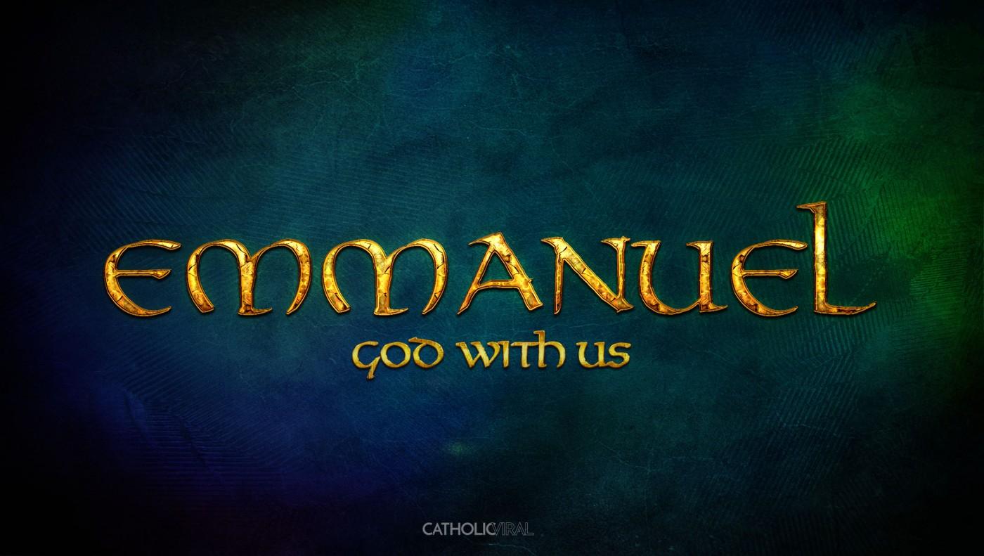 29 Epic Seasonal Titles - HD Christmas Wallpapers - Emmanuel God with Us