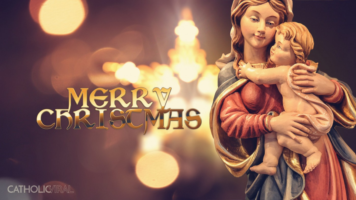 27 Christmas Season Celebration Photographs - HD Christmas Wallpapers - Mary and Star