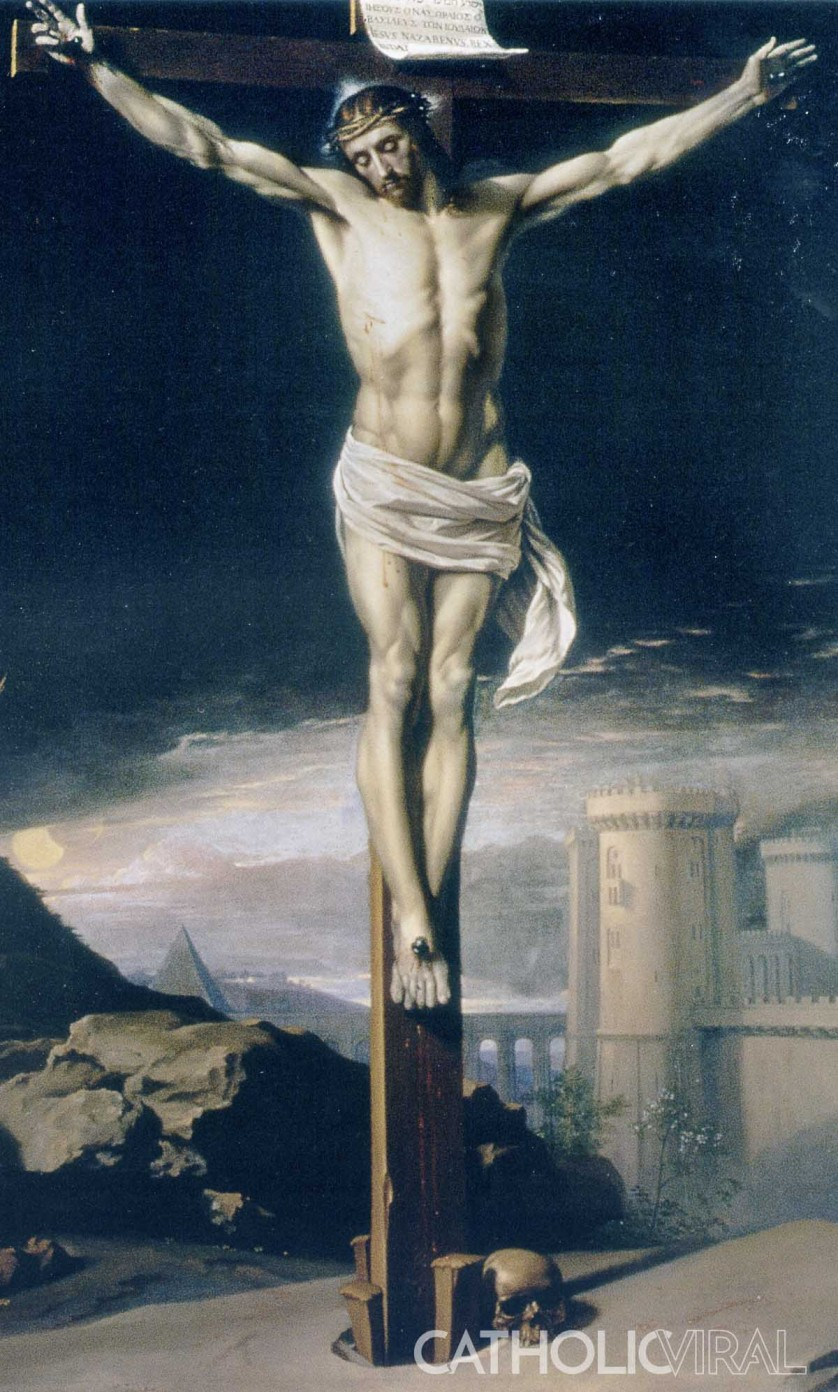 Christ Crucified - Philippe de Champaigne 2 - 54 Paintings of the Passion, Death and Resurrection of Jesus Christ