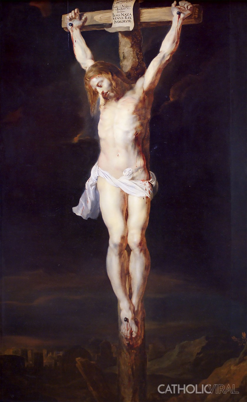 Crucifixion - Rubens - 54 Paintings of the Passion, Death and Resurrection of Jesus Christ