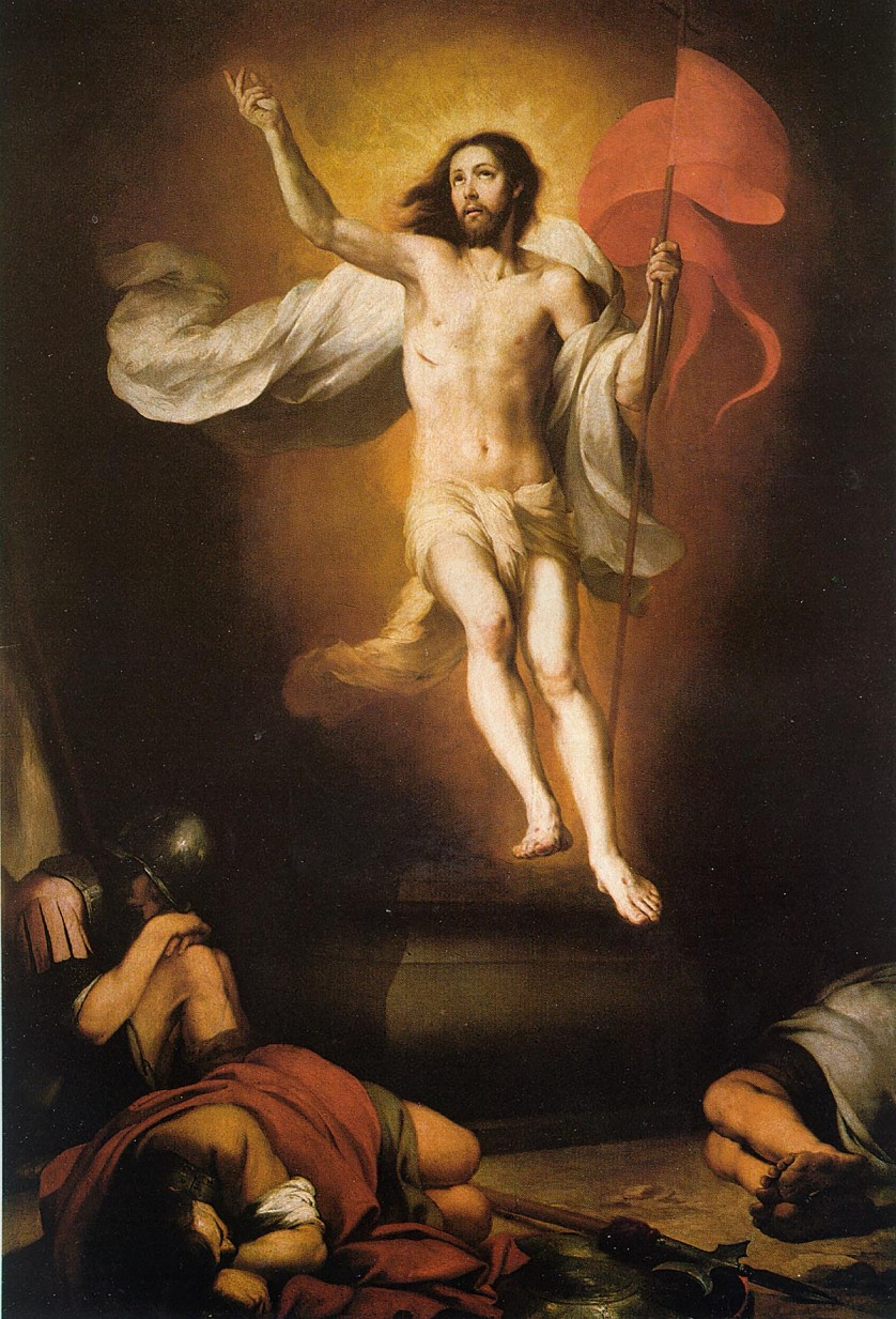 Resurrection of Christ - Bartolomé Esteban Murillo - 54 Paintings of the Passion, Death and Resurrection of Jesus Christ